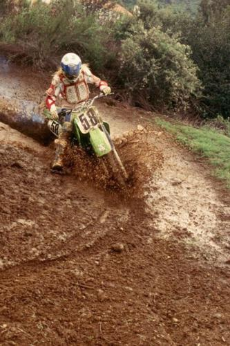 Summer Fun - Playin' in the mud on the dirt bike track