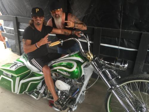 Summer Fun - Always look forward to checking out cool rides while on tour