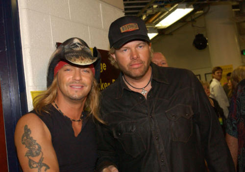 Bret & Toby Keith (WireImage.com)