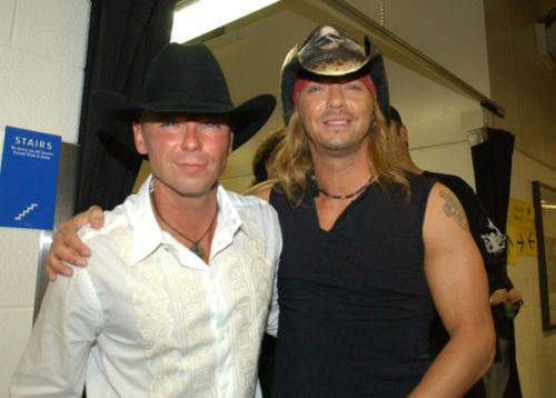 Kenny Chesney & Bret (WireImage.com)